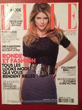 ELLE 31 Mars 2008 - Alice Taglioni Like a Madonna Ronde et Fashion Beauté Mode
