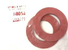 ITT Bell & Gossett B&G 118054 (was F-418) Flange Gasket Set NEW In Bag NOS