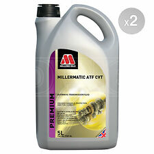 Millers Oils Millermatic ATF CVT Automatic Transmission Fluid 2 x 5 Litres 10L