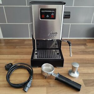 Gaggia Classic Coffee Espresso Machine 2010 with Extras and Rancillio Steam Wand