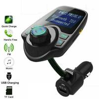 Bluetooth In-Car Wireless FM Transmitter MP3 Radio Adapter Car 2 USB Charger Kit