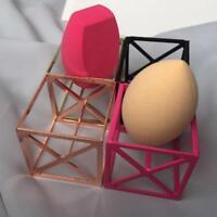 Blender Storage Rack Egg Sponge Drying Stand Beauty Makeup Powder Puff Holder Q