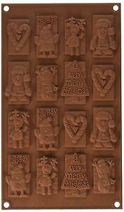 Christmas Choco Tags Chocolate Mould