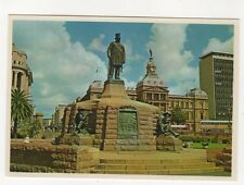 The Monument To Paul Kruger Church Square Pretoria South Africa Postcard 966a