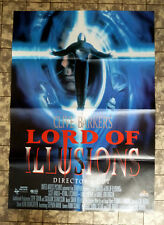 LORD OF ILLUSION * Clive Barker -VIDEO-POSTER A1 Ger 1-Sheet ´97 H. P. LOVECRAFT