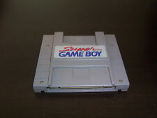 SUPER GAME BOY SUPER NINTENDO SNES ADAPTER CARTRIDGE