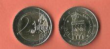 San Marino 2 Euro ORDINARIO Münze 2011 COINS EURO FDC UNC MONNAIE FIOR DI CONIO