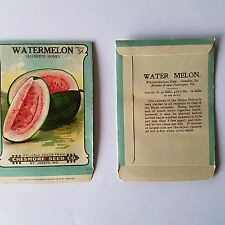 Vintage 1900's lithograph seed package, Burt seed company, Chesmore seed company