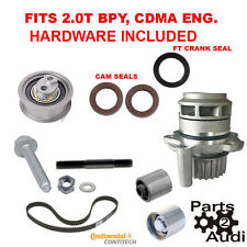 Timing Belt kit w Hardware,water pump Audi A3 A4 TT Volkswagen Jetta Passat 2.0T