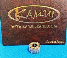 (1) Genuine S KAMUI BROWN Pool Cue Tip ( SOFT ) - w/ serial number