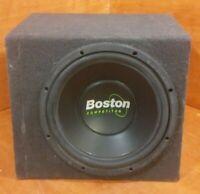 "Boston Competitor Enclosed Sub-woofer 8"" Speaker"