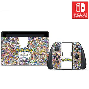 Pokémon Vinyl Skin Sticker Set for Nintendo Switch
