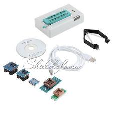Tl866cs Programmer USB EPROM Flash Bios 6 Adapters Socket Extractor for 13000 IC
