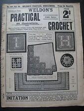 WELDON'S PRACTICAL CROCHET No. 351 (1910's) - Needlework Magazine