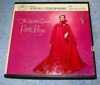 """PATTI PAGE The Waltz Queen Mercury MVS2-18 MVS 2 18 7 1/2"""" IPS Reel Tape J0733"""