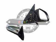 TOYOTA KLUGER 8/2007-9/2010 RIGHT SIDE DOOR MIRROR ELECTRIC CHROME  (L)