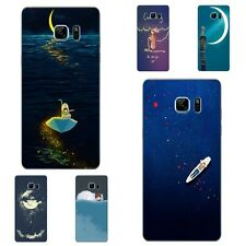 Cases For Samsung Galaxy Note A5 A7 2016 Soft TPU Phone Back Cover Good Nights