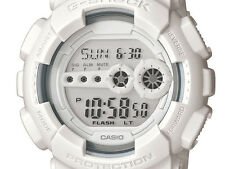 *NEW* CASIO MENS G SHOCK WHITE DIGITAL WATCH XL GD100WW-7CS RRP£119
