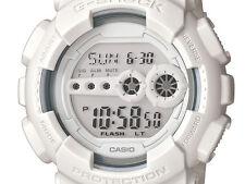 * Nuovo * Da Uomo Casio G Shock Orologio Digitale Bianco XL gd100ww-7cs RRP £ 119