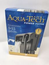 Aqua-Tech 5-15 Gallons Ultra Quiet Power Filter in Box New