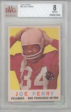 1959 Topps Football Joe Perry (HOF) (#80) BVG8 BVG
