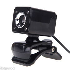 USB 12 Megapixel HD Camera Web Cam with MIC Night Vision 360 Degree for Computer