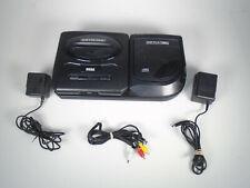 New listing Sega Cd Version 2 Mk-4102A w/Genesis Ii console, Ac Adapters & Av cord Tested!