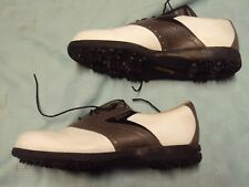 Footjoys DryJoys TurfMasters Men Golf Shoes Size 8.5 M Pre-owned!