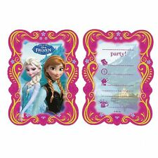 Disney Frozen Invitation Cards with Envelops Birthday Girls Party Invitation