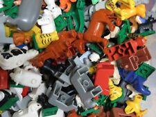 5 LEGO DUPLO ANIMAUX Assortiment Multicolore P. ex. chevaux tigre OURSON Animal
