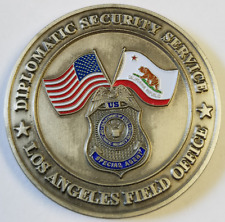 DOS DSS Diplomatic Security Service Los Angeles Field Office California 1.75