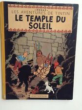 TINTIN LE TEMPLE DU SOLEIL T 14 / EO 1949/ HERGE / CASTERMAN / TBE