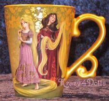 Disney Designer Fairytale Doll Heros VS Villains Rapunzel&Mother Gothel Mug NEW
