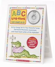 ABC Sing-Along Flip Chart & CD: 26 Fun Songs Set to Your Favorite Tunes T...