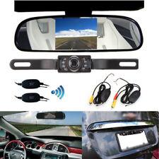 "Wireless Car Reversing Camera Kit 4.3"" Mirror Monitor LCD Backup Camera"