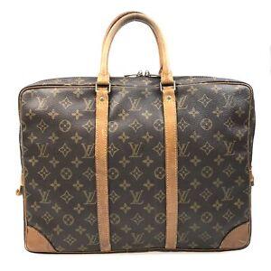 100% Authentic Louis Vuitton Porte Documents Voyage  M53361 [Used] {05-479B}