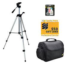 Tripod & Case Kit for Nikon D7100 D7000 D5300 D5200 D3300 D3200 Digital Camera