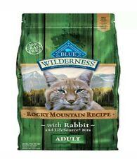 Blue Buffalo Wilderness Rocky Mountain Rabbit Cat Food 10 LBS BB9/2019