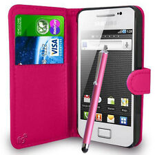 Wallet Case Pouch PU Leather Cover For Samsung Galaxy Ace S5830 S5830I S5839I