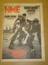 NME 1983 JAN 29 JOBOXER FRANK BRUNO MEN AT WORK
