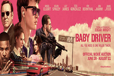 Baby Driver Version F Poster 13x19 inches