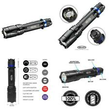 Police Security Trac Tact 2Aa Flashlight - Cree Led - 280 Lumen - Tactical - Red