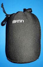 Matin Housse néoprène pour objectifs - Taille M 140 x 90mm