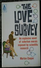 The Love Survey Cooper 1961 Vintage Sleaze Erotica Out Of Print Rare!