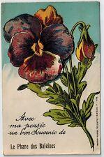 Mechanical France Phare des Baleines advertising city old c1920-1940s postcard