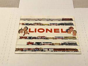LIONEL ORIGINAL VINTAGE 1955 ELECTRIC TOY TRAINS CATALOG 44-PAGES STANDARD GAUGE