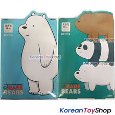 WE BARE BEARS Cute Band Aid Bandages Standard 16 Pads * 2 Boxes Made in Korea