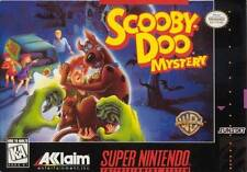 Scooby Doo Mystery SNES Great Condition Fast Shipping