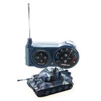1X(1:72 Mini carro armato assalto veicolo giocattolo RC Remote Controllo per HK
