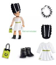 American Girl Doll Truly Me Mod Monster Outfit Costume Clothes Jewelry Shoes Lot